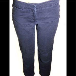 af4ee447000 Audrey   Celine Dress Crop Pants Navy Sz 6